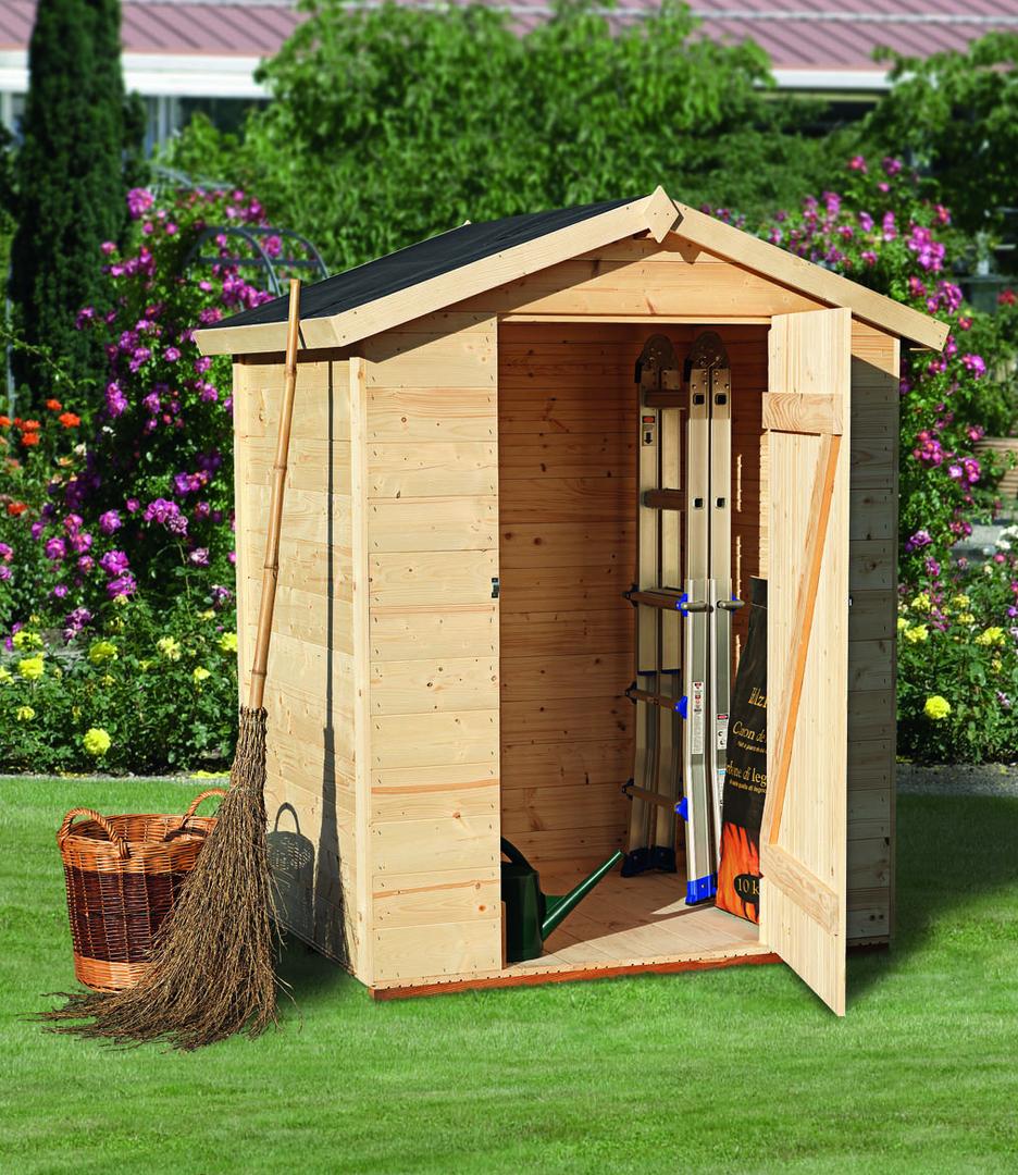 Casetta da giardino mod violetta orti e giardini - Casette in legno da giardino ...